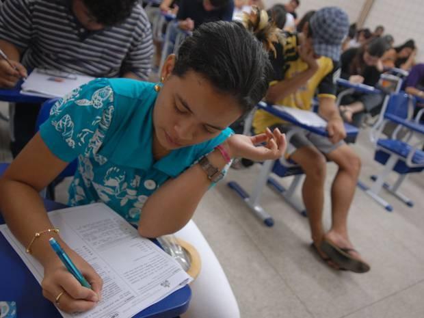 Candidatos ao 3º Processo Seletivo Especial 2014 da Universidade Federal do Sul e Sudeste do Pará (Unifesspa) têm até o dia 24 de agosto para fazer inscrições. (Foto: Paula Sampaio/O Liberal)