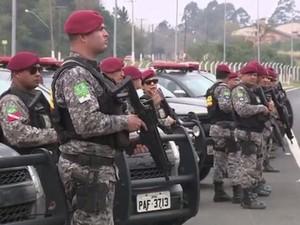 Força Nacional chega ao Rio Grande do Sul (Foto: Reprodução/RBS TV)