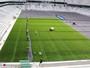 Atlético-PR instala grama artificial, mas não garante jogo do dia 18 na Baixada