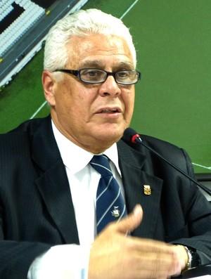 Roberto Dinamite coletiva Vasco (Foto: Vicente Seda)