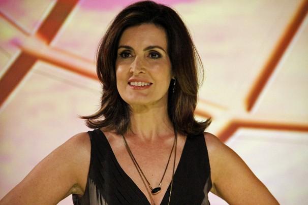 Maquiagem de Fátima Bernardes para o novo programa terá olhos bem marcados para dar look sofisticado (Foto: Nathalia Fernandes/TV Globo)