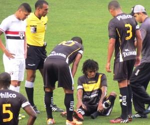 Roger Gaúcho Criciúma (Foto: João Lucas Cardoso)