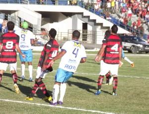 Campinense empata com o Ypiranga no Amigão (Foto: Silas Batista/GloboEsporte.com')