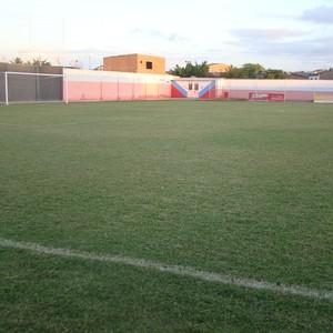 Estádio Políbio Lemos, campo do Altinho (Foto: André Vinícius / GloboEsporte.com)