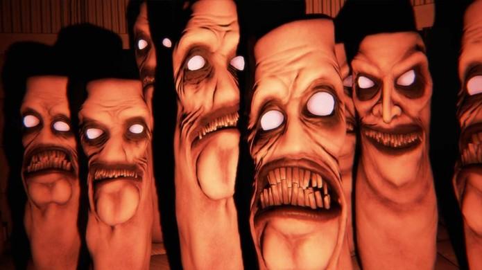 Albino Lullaby acredita que não precisa de sustos no PlayStation VR, desde que seus habitantes tenham essas caras (Foto: Reprodução/Horror Database)