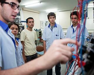 Escola Técnica Pandiá Calógeras (Foto: Divulgação/Escola Técnica Pandiá Calógeras)