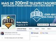 Print Facebook Rota Inter TV (Foto: Divulgação)