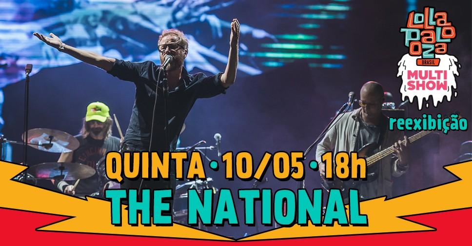 Multishow reexibe o show da banda The National nesta quinta (10), s 18h (Foto: Divulgao/Multishow)