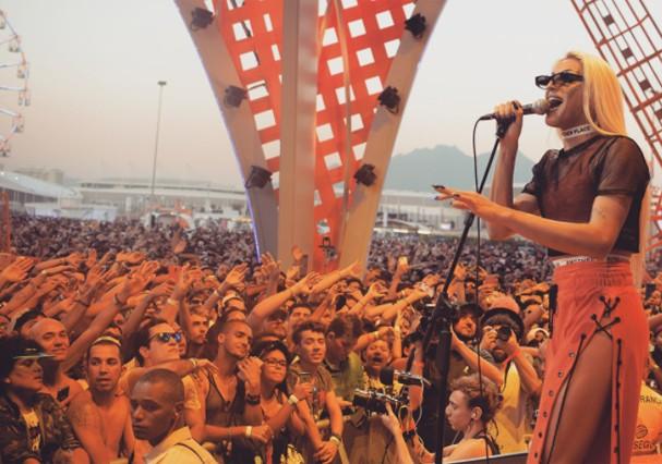 Pabllo Vittar no Rock in Rio (Foto: Instagram/Reprodução)