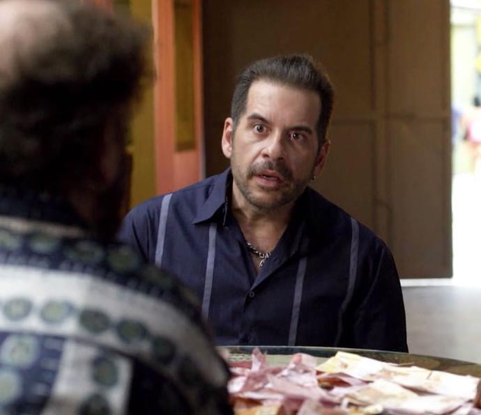 Genésio fatura grana com o Jurema Hall (Foto: TV Globo)