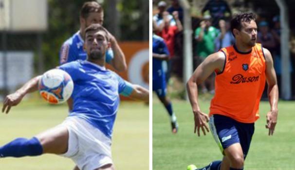 Caldense defende a liderança contra o Cruzeiro neste domingo (8) (Foto: Montagem/GE Grande Minas)