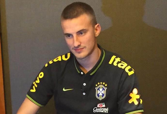 Rodrigo Ely seleção Brasil sub21 (Foto: Felipe Schimidt)