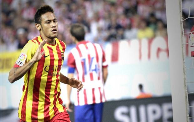 Neymar Barcelona (Foto: Agência EFE)