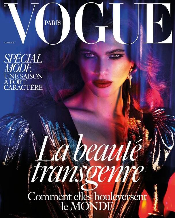 Valentina Sampaio para Vogue Paris (Foto: Reprodução/Instagram)