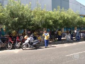 Greve nos Correios é por tempo indeterminado, segundo o sindicato (Foto: Reprodução/TV Clube)