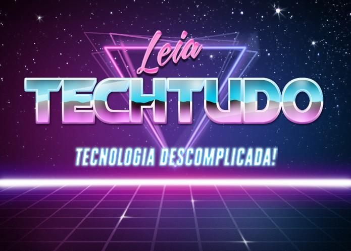 Retrowave Text Generator se popularizou nas redes sociais com posters ao estilo anos 80 (Foto: Reproduçao/Elson de Souza)