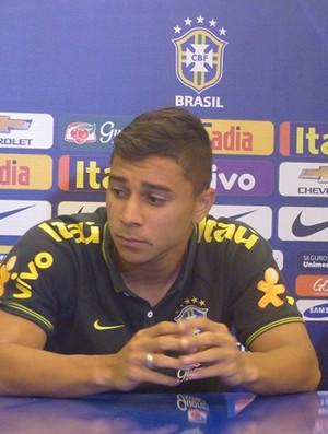 João Pedro e Lucas Evangelista seleção brasileira sub-20 (Foto: Felipe Schmidt)