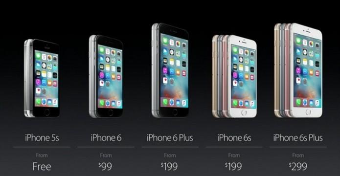 Preços de novos iPhones 6S no Brasil não foram liberados (Foto: Divulgação/Apple)
