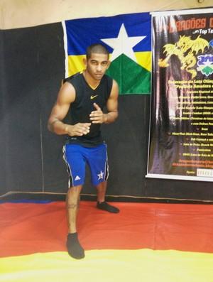 Amizael Silva é reserva da Seleção Brasileira de Luta Olímpica (Foto: Larissa Vieira)