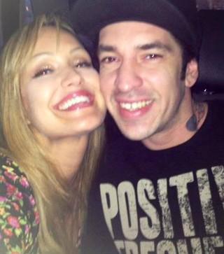 Claudia Bossle e Champignon (Foto: Arquivo pessoal/Divulgação)