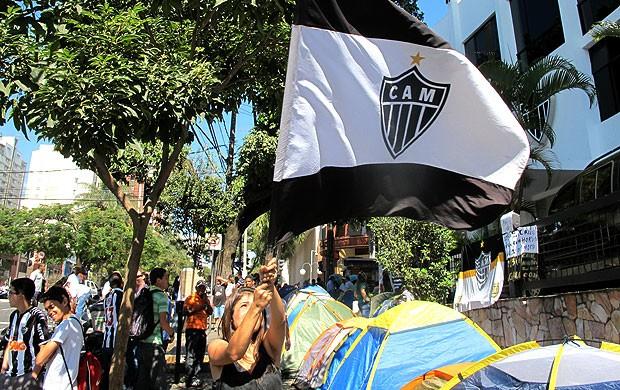 Carrossel torcedora Atlético-MG (Foto: Alexandre Alliatti)
