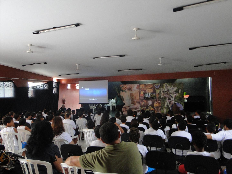 Anfiteatro Ferreira Sampaio (Foto: reprodução - Prefeitura de Guarujá)