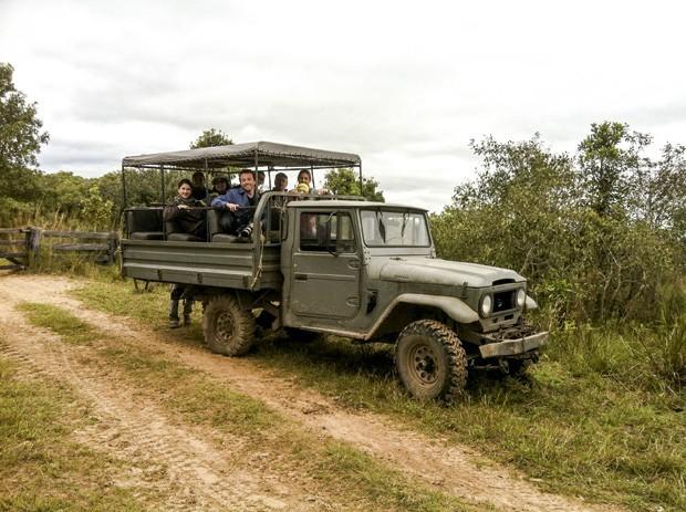 Safári no caminhão (Foto: Divulgação)