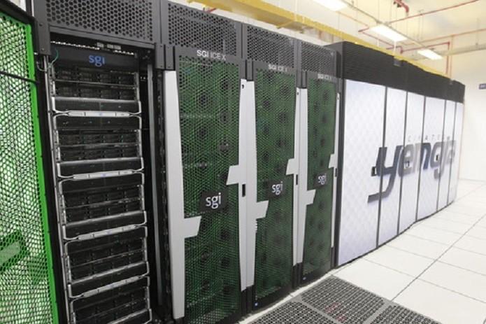 O Cimatec Yemoja é um dos supercomputadores brasileiros em atividade (Foto: Divulgação/Governo da Bahia)