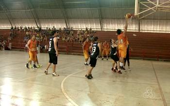 Park Fitness x Vasco na final da Copa Rio Branco de Basquete masculino (Foto: Reprodução/Rede Amazônica Acre)