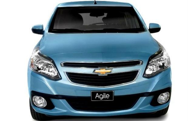 Chevrolet apresenta Agile 2014 na Argentina (Foto: Divulgação)