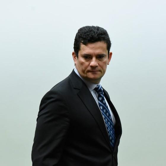 O  juiz federal, Segio Moro (Foto: Mateus Bonomi/AGIF/AFP)