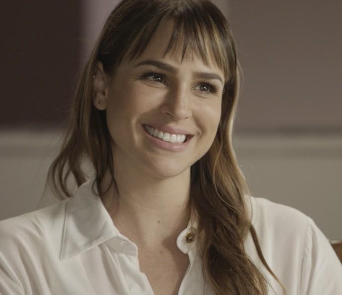 Ela, no entanto, conta que já tem planos para os dois (Foto: TV Globo)