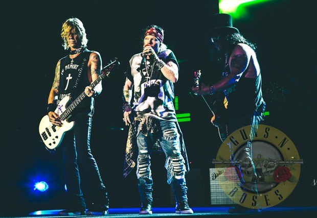 guns and roses brasil