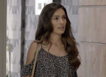 Luciana leva fora de Rodrigo