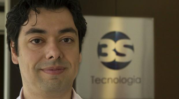 Anderson Bochoglonian, cofundador da 3S Tecnologia (Foto: Bruno Passo)