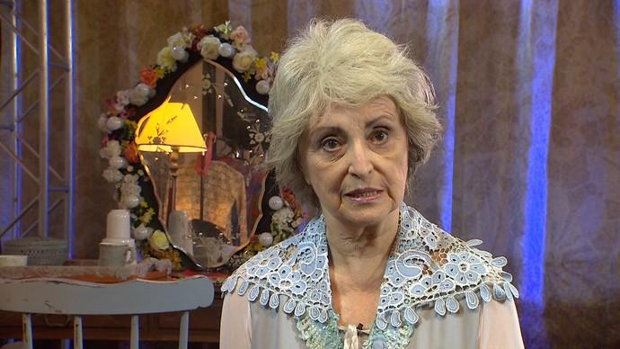 Atriz Ana Lúcia Torre afirma que envelhecer é não mudar os conceitos (Foto: TV Bahia)