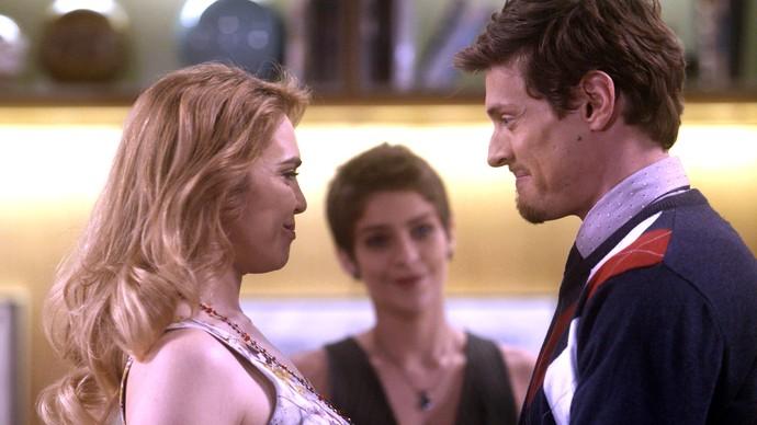 Letícia empata Ruty Raquele e Antonio (Foto: TV Globo)