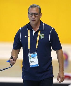 William Morales - preparador seleção brasileira de polo aquático (Foto: Satiro Sodré/SSPRESS)