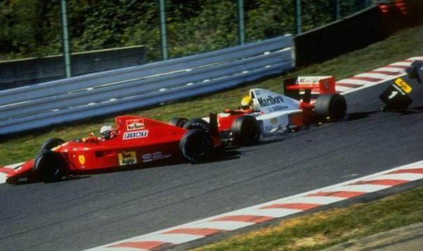 Suzuka foi palco do famoso 'troco' de Ayrton Senna em Prost, que deu o bi ao brasileiro em 90 (Foto: (Foto:  Getty Images)