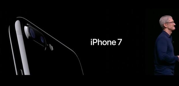 Tim Cook anuncia o iPhone 7 em evento da Apple nos Estados Unidos (Foto: reprodução)