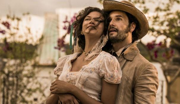 Marina Nery e Rodrigo Santoro serão um casal na primeira fase de 'Velho Chico'. Ela será Leonor, e ele será o coronel Afrânio  (Foto:  Caiuá Franco/ Globo)