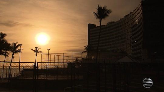 Salvador registra 31º C e sensação térmica de 37º C nesta sexta-feira
