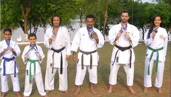 Tocantinenses voltam com medalhas do Brasileiro de Karatê, disputado em São Paulo