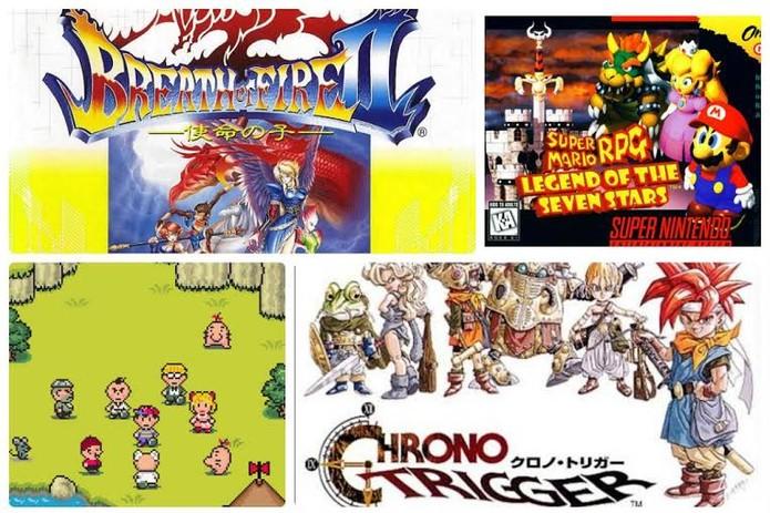 Veja os principais jogos de RPG da era SNES (Foto: Reprodução / TechTudo)