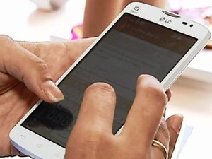 Aplicativo celular Uberlândia (Foto: Reprodução/ Tv Integração)