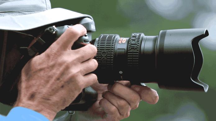 Elástico protege lentes de câmeras DSLR e ajuda a localizar zoom (Foto: Reprodução/Kickstarter) (Foto: Elástico protege lentes de câmeras DSLR e ajuda a localizar zoom (Foto: Reprodução/Kickstarter))