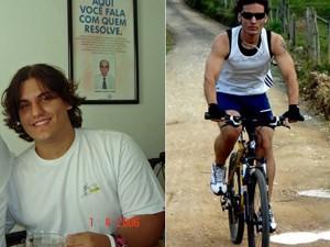 Vinícius decidiu emagrecer para viver um estilo de vida saudável (Foto: Arquivo pessoal)