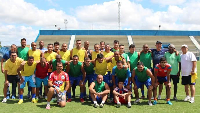 Treino Amigos do Delmo (Foto: Nathalia Silveira)