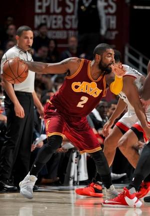 Cleveland Cavaliers x Toronto Raptors, Kyrie Irving (Foto: Reprodução/Twitter NBA)