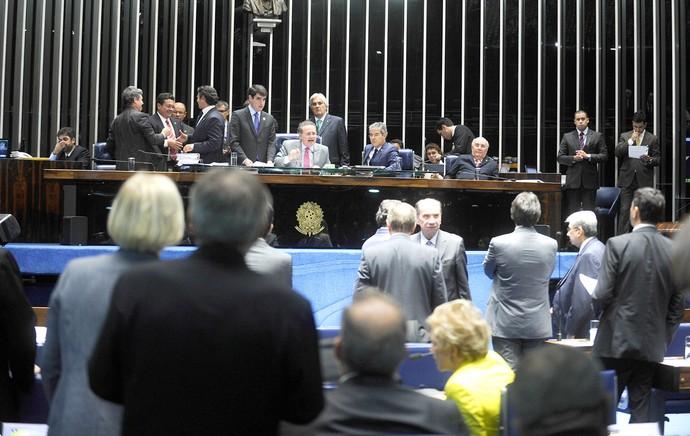 plenário do Senado Federal (Foto: Divulgação Senado Federal )